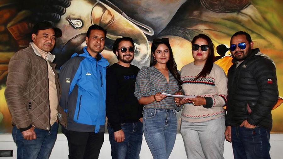barsha-siwakoti new film